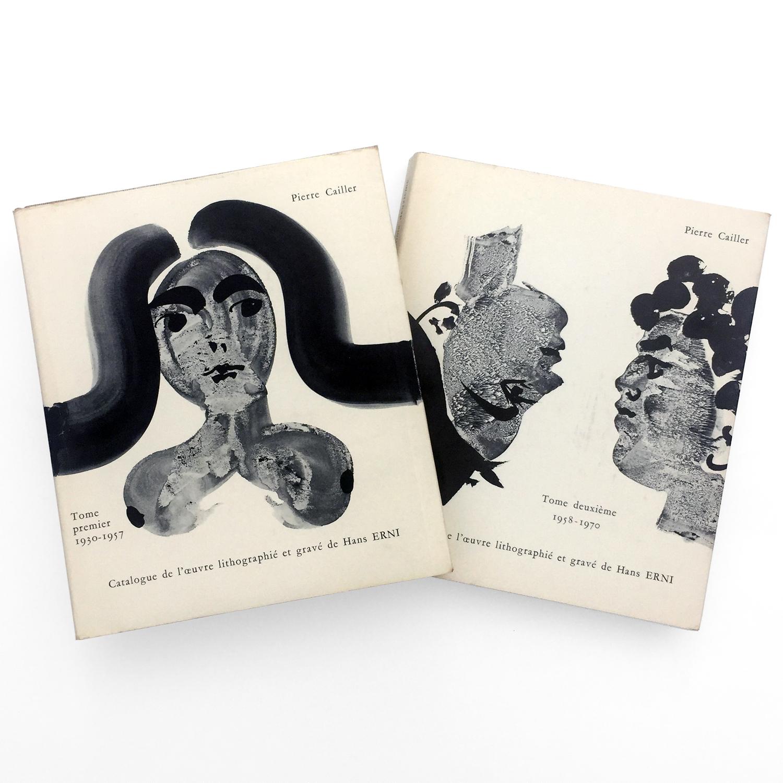 Catalogue de l'œuvre lithographié et gravé de Hans Erni Tome premier 1930-1957 / Tome deuxième 1958-1970
