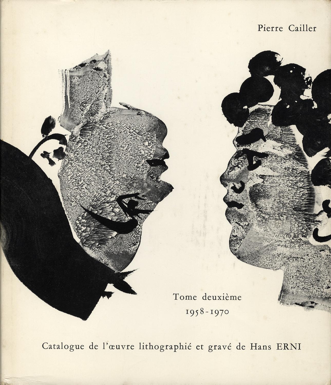 Catalogue de l'œuvre lithographié et gravé de Hans Erni Tome premier 1930-1957 / Tome deuxième 1958-1970[image3]