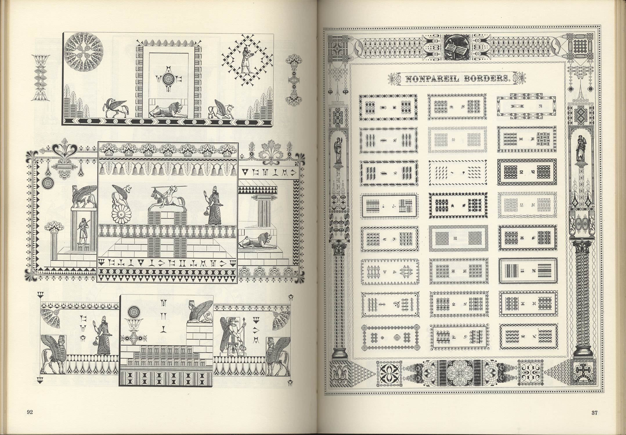 Victorian Frames、 Borders and Cuts from the 1882 Type Catalog of George Bruce's Son & Co.[image2]