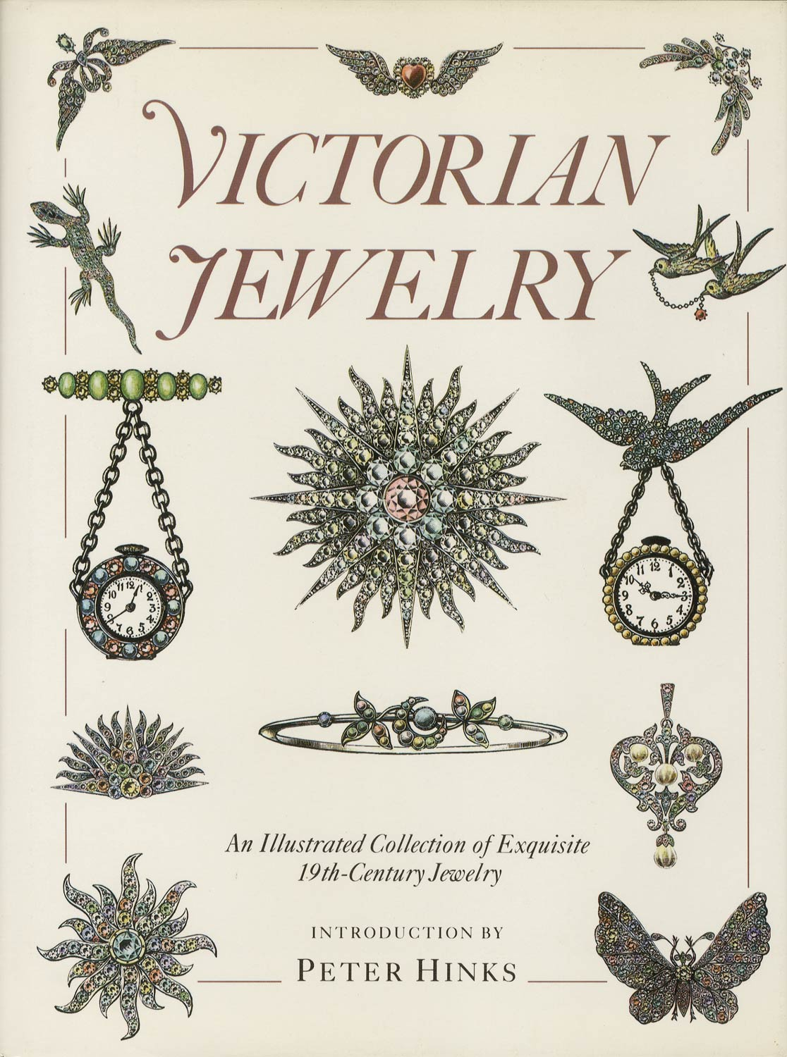 Victorian Jewelry An Illustrated Collection of Exquisite 19th-Century Jewely