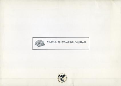 WELCOME TO CATALOGUE FLASHBACK Kosugi+Ando project FLASHBACK 1991[image1]