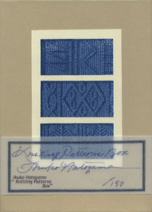 Knitting Patterns Box